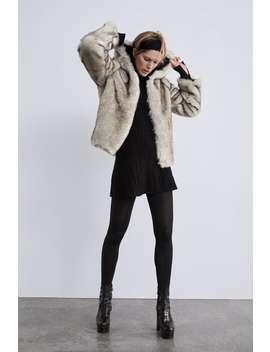 Faux Fur Jacket  Trending Nowwoman by Zara