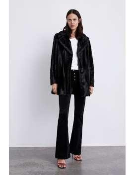 Faux Fur Coat  Trending Nowwoman by Zara