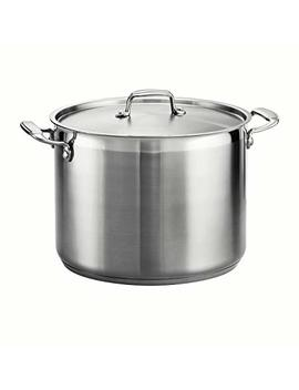 Tramontina 80120/001 Ds Tramontina Gourmet Stainless Steel Covered Stock Pot, 16 Quart by Tramontina