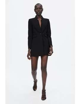 Double Lapel Frock Coat  Trending Nowwoman by Zara