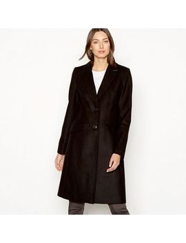 The Collection   Black City Coat by The Collection