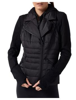 3 In 1 Packable Puffer Jacket by Blanc Noir