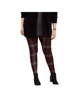 Plus Size Plaid Ultra Soft Legging by Maurices