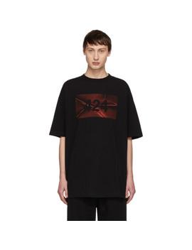 Black Logo T Shirt by 424