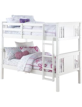 Better Homes And Gardens Flynn Twin Wood Bunk Bed, Multiple Colors by Better Homes & Gardens