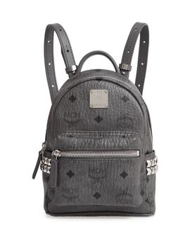 'x Mini Stark Side Stud' Convertible Backpack by Mcm