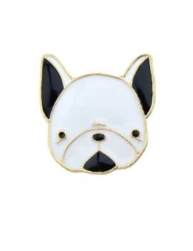 Enamel Small Cute Dog Pattern Brooches Bijoux Accessories For Women by Romwe