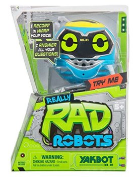 Really R.A.D. Robots Yakbot Yb 01 Blue by Really R.A.D. Robots