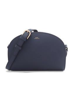 Demi Lune Textured Leather Shoulder Bag by A.P.C. Atelier De Production Et De Création
