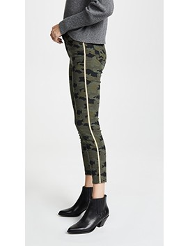Margot High Rise Skinny With Metallic Trim by L'agence