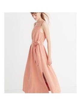 Madewell Apron Tie Waist Dress Nwt 12Nwt by Madewell