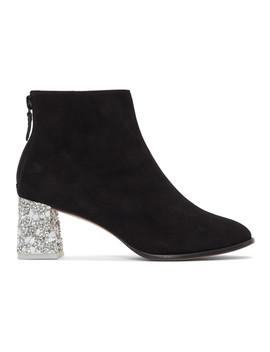 Black Stella Ankle Boots by Sophia Webster
