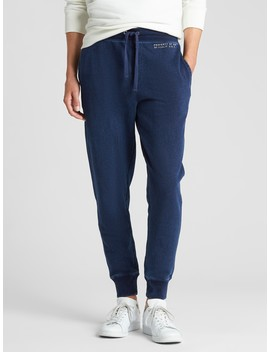 Logo Indigo Joggers In French Terry by Gap