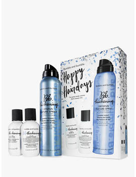 Bumble And Bumble Happy Hairdays Thickening Hair Care Set by Bumble And Bumble