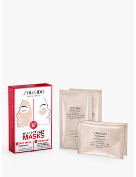 Shiseido Benefiance Wrinkle Resist24 Facial Masks Skincare Gift Set by Shiseido