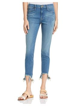 Le High Skinny Stiletto Hem Jeans In Culver   100 Percents Exclusive by Frame