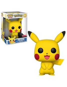 "Funko Pop! Games: Pokemon 10"" Pikachu (Exclusive) by Funko"