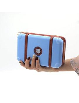 Liiren Womens Handbag Portable Overnight Cosmetic Bag Makeup Box Evening Clutch Bag Party Bag Wedding Bag by Liiren