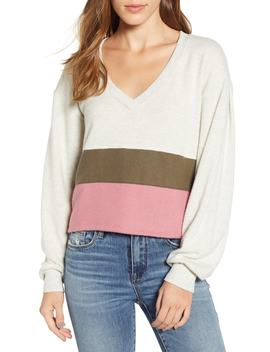 Cozy Colorblock Sweatshirt by Pst By Project Social T