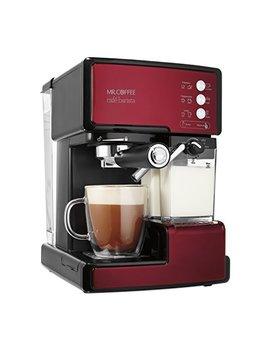 Mr. Coffee Cafe Barista Espresso And Cappuccino Maker, Red by Mr. Coffee