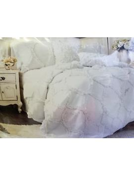Lush Decor Avon White 3 Piece Comforter Set Queen by Lush Décor