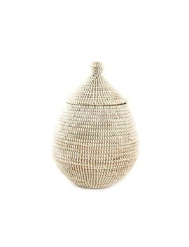 Woven Gourd Basket With Lid   Fair Trade by Connected Fair Trade Products