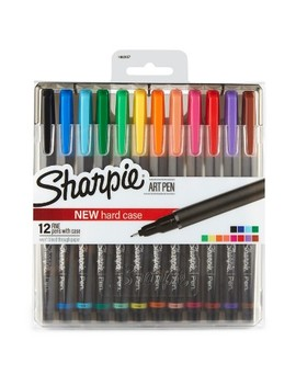Sharpie® Art Pen Fine Tip 12ct   Multicolor by Sharpie