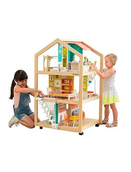 So Stylish Mansion Dollhouse With Ez Kraft Assembly by Kid Kraft