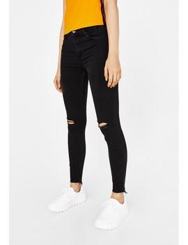Mit Tiefem Bund   Jeans Skinny Fit by Bershka