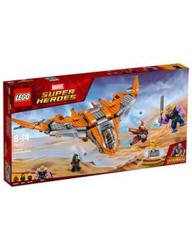 Lego Marvel Super Heroes 76107 Avengers Thanos Ultimate Battle Set by Lego