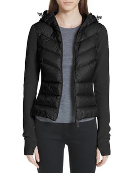Quilted Front Fleece Jacket by Moncler