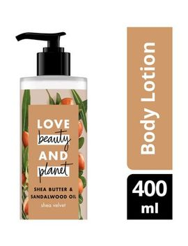 Love Beauty And Planet Shea Velvet Body Lotion 400ml by Love Beauty Planet