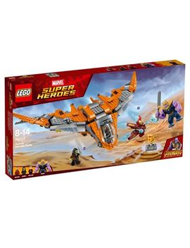 Lego   Marvel Super Heroes   Avengers Thanos Ultimate Battle Set   76107 by Lego