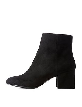 Ankle Booties by Charlotte Russe