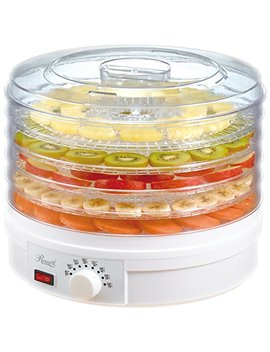 Rosewill Countertop Portable Electric Food Fruit Dehydrator Machine With Adjustable Thermostat, Bpa Free 5 Tray Rhfd 15001 by Rosewill