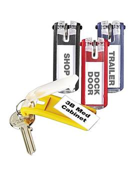 Durable Key Tags 24 Pack, Assorted Colors by Durable