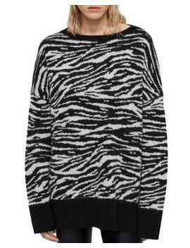 Zebra Stripe Sweater by Allsaints