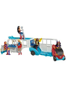 "Dc Super Hero Girls Action Doll Feature Bus, 12"" by Dc Super Hero Girls"