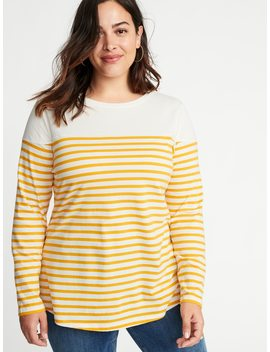 Every Wear Plus Size Striped Tee by Old Navy