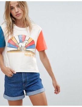 Wrangler – Kurz Geschnittenes T Shirt Mit Logo by Asos