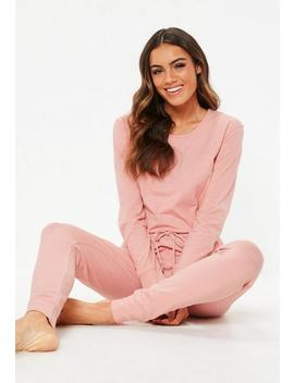Pink Loungewear Jumpsuit by Missguided