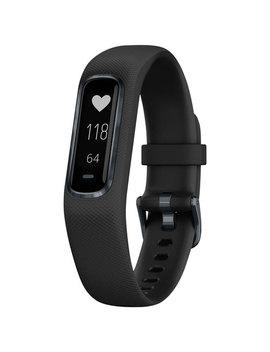 Garmin Vivosmart 4 Fitness Tracker With Heart Rate Monitor   Medium   Midnight Black by Garmin