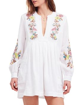 Mia Embroidered Minidress by Free People