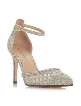 Roland Cartier   Gold 'dolli' High Stiletto Heel Ankle Strap Sandals by Roland Cartier