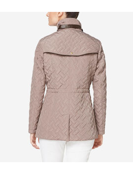 Signature Quilted Short Jacket by Cole Haan