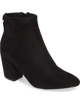 Brooklyn Block Bootie by Topshop