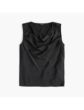 Sleeveless Cowlneck Top by J.Crew