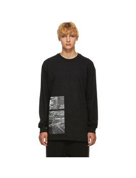Black 'stack' Sweatshirt by Song For The Mute