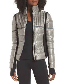 Reflective Feather Weight Down Jacket by Blanc Noir