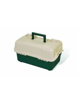 Plano      Hip Roof Box 6 Tray Green/Sand 861600 by Plano